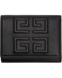 Givenchy - ブラック デボス 4g トライフォールド ウォレット - Lyst