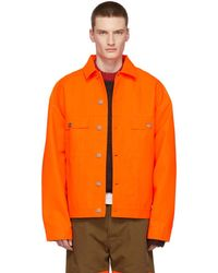 Etudes Studio - Orange Vertige Jacket - Lyst