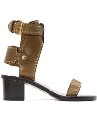 Isabel Marant - Brown Iconic Jearyn Sandals - Lyst