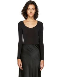 Wolford - Black Buenos Aires String Bodysuit - Lyst