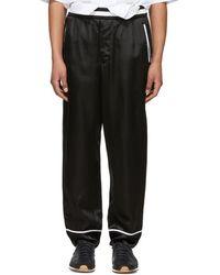 3.1 Phillip Lim - Reversible Black Pj Trousers - Lyst