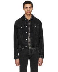 Givenchy - Black Vintage Denim Jacket - Lyst