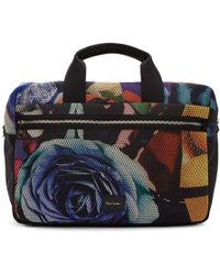 Paul Smith - Multicolour Collage Rose 24h Briefcase - Lyst