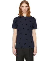 McQ Alexander McQueen | Navy Swallow T-shirt | Lyst
