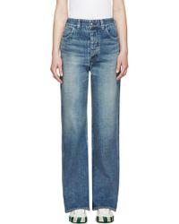 Visvim - Blue Social Sculpturess Jeans - Lyst