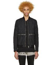 Hood By Air - Black Jockey Bomber Jacket - Lyst