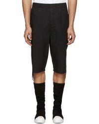 Alexandre Plokhov - Black Drawstring Shorts - Lyst