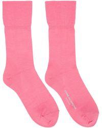 Comme des Garçons - Pink Long Socks - Lyst