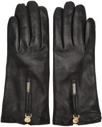 Want Les Essentiels De La Vie - Black Leather Mozart Gloves - Lyst