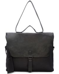 Marsèll - Black Leather Messenger Bag - Lyst