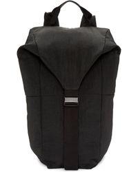 Julius - Black Nylon Backpack - Lyst