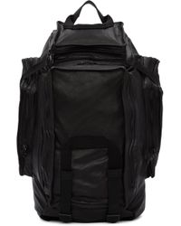 Julius - Black Multi-zip Backpack - Lyst