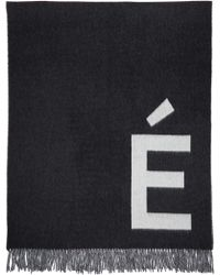 Etudes Studio - White & Grey Magnolia Accent Scarf - Lyst