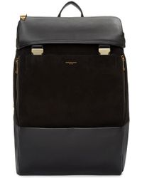 Wooyoungmi - Black Suede & Leather Backpack - Lyst