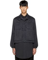 Björn Borg - Black Silk Workwear Jacket - Lyst