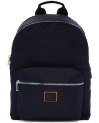 PS by Paul Smith - Navy Nylon Backpack - Lyst