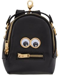Sophie Hulme - Black Micro Wilson Backpack Coin Pouch - Lyst