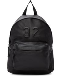 Joshua Sanders - Black '32' Backpack - Lyst