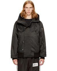 Ueg | Black Hooded Flyers Jacket | Lyst