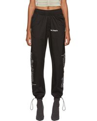 Palm Angels - Black Goth After Sport Lounge Pants - Lyst