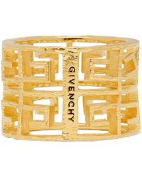Givenchy - Gold 4g Ring - Lyst