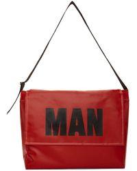 Junya Watanabe - Red Pvc Man Messenger Bag - Lyst