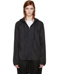 Acne Studios - Black Marwy Face Zip Jacket - Lyst