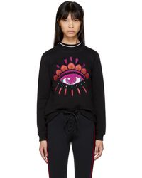 KENZO - Black Limited Edition Holiday Eye Sweatshirt - Lyst
