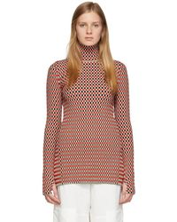 Paco Rabanne - Reversible Checked Cotton-blend Top - Lyst