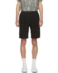 Saturdays NYC - Black Keigo Crepe Shorts - Lyst