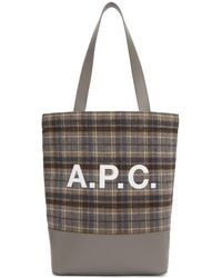 A.P.C. - Axelle Tote Bag - Lyst