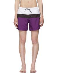 BOSS - Tricolor Zebrafish Swim Shorts - Lyst