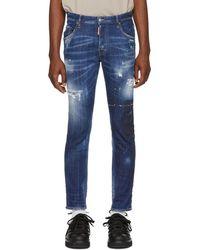DSquared² - Blue Skater Jeans - Lyst