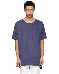 Jan Jan Van Essche - Indigo Long T-shirt - Lyst