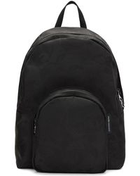 Alexander McQueen - Black Small Jacquard Backpack - Lyst