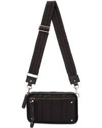 Valentino - Black Garavani Small Nylon Messenger Bag - Lyst