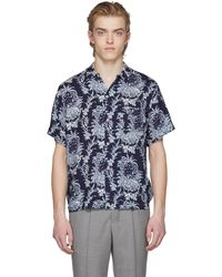 Éditions MR | Blue Safari Print Shirt | Lyst