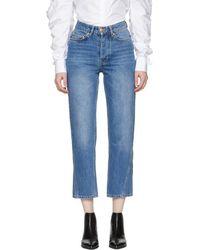 Won Hundred - Blue Pixi Wide-leg Jeans - Lyst