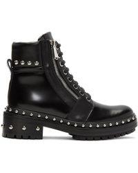 Balmain - Black Army Ranger Boots - Lyst