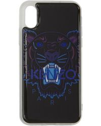 KENZO - Black Tiger Iphone Xs Case - Lyst