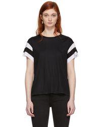 Rag & Bone - Black Penny T-shirt - Lyst