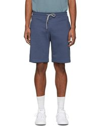 PS by Paul Smith - Blue Sweat Shorts - Lyst