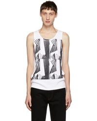 CALVIN KLEIN 205W39NYC - White Andy Warhol Tank Top - Lyst