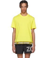 Opening Ceremony - Yellow Limited Edition Elastic Logo T-shirt - Lyst