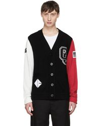 Opening Ceremony - Tricolor Limited Edition Varsity Cardigan - Lyst