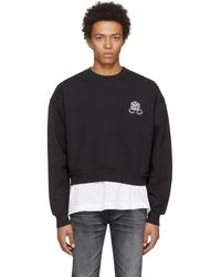Enfants Riches Deprimes - Black High Risk Low Risk Sweatshirt - Lyst