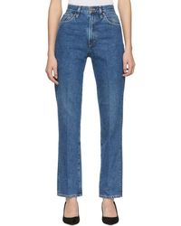 Goldsign - Blue The Classic Fit Jeans - Lyst