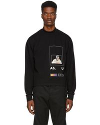 Pyer Moss - Black Fed Up Long Sleeve T-shirt - Lyst