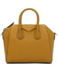 Givenchy - Tan Mini Antigona Bag - Lyst