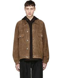 Visvim - Brown Jumbo 101 Leather Jacket - Lyst